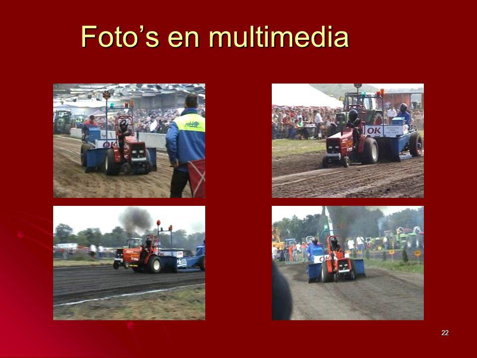 22 Foto's en multimedia