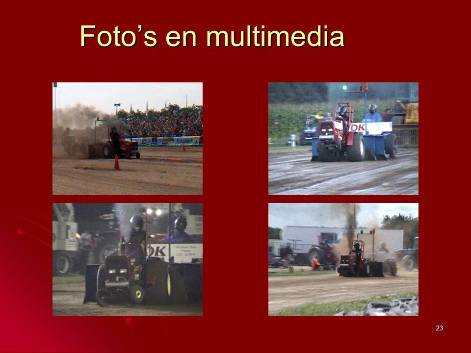 23 Foto's en multimedia
