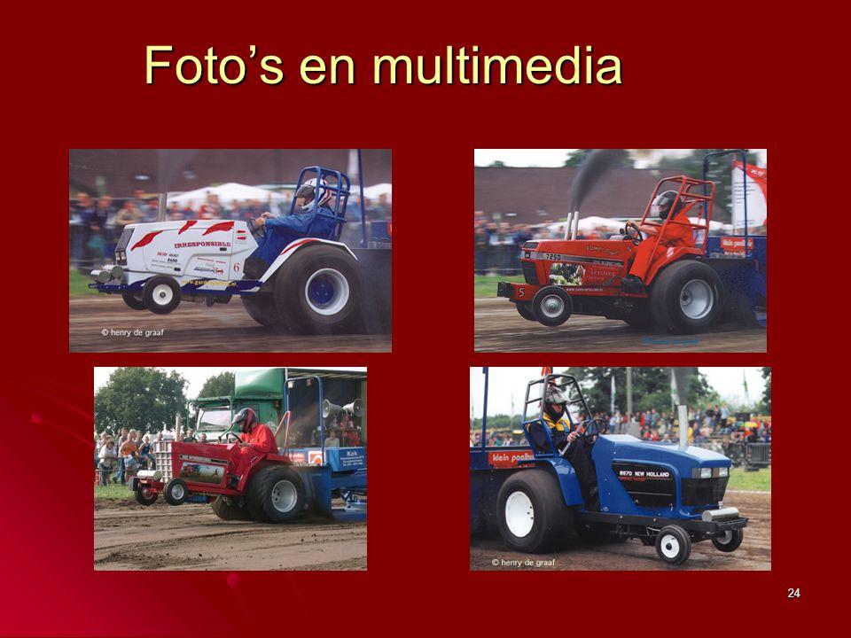 24 Foto's en multimedia