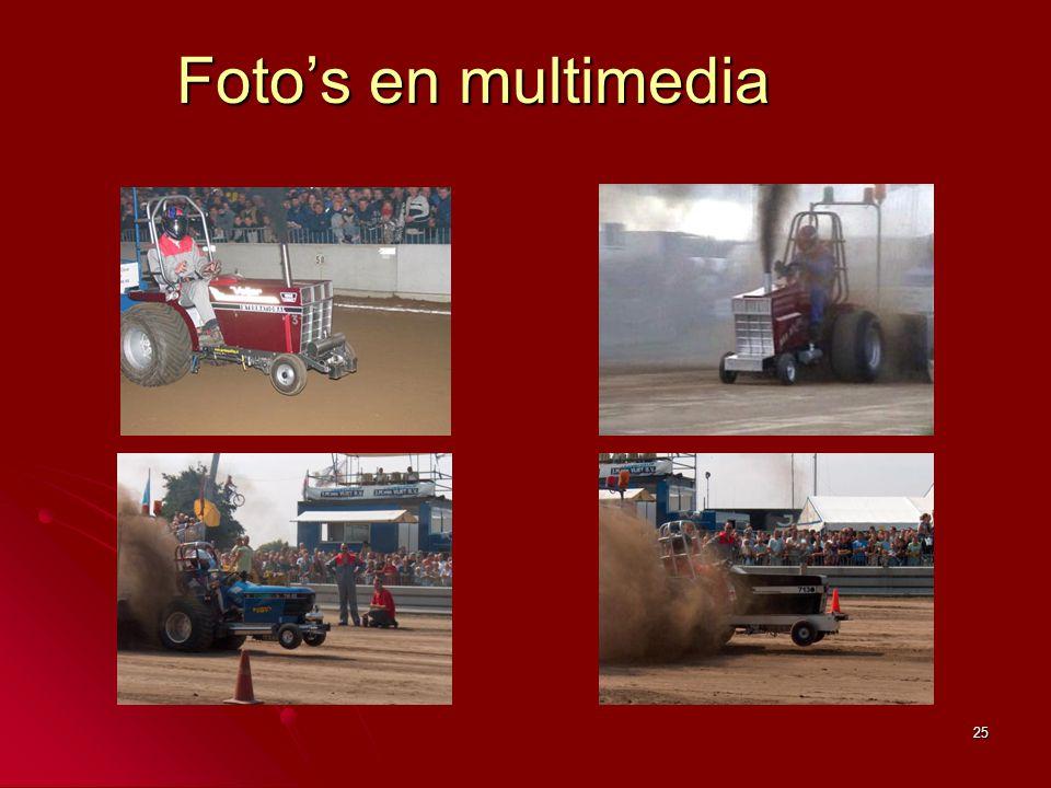 25 Foto's en multimedia