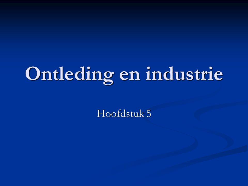 Ontleding en industrie Hoofdstuk 5