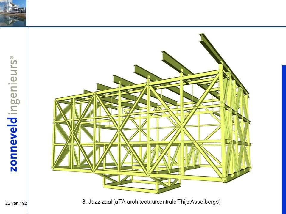22 van 192 8. Jazz-zaal (aTA architectuurcentrale Thijs Asselbergs)