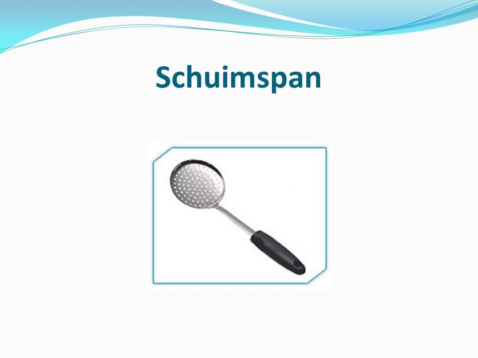 Schuimspan
