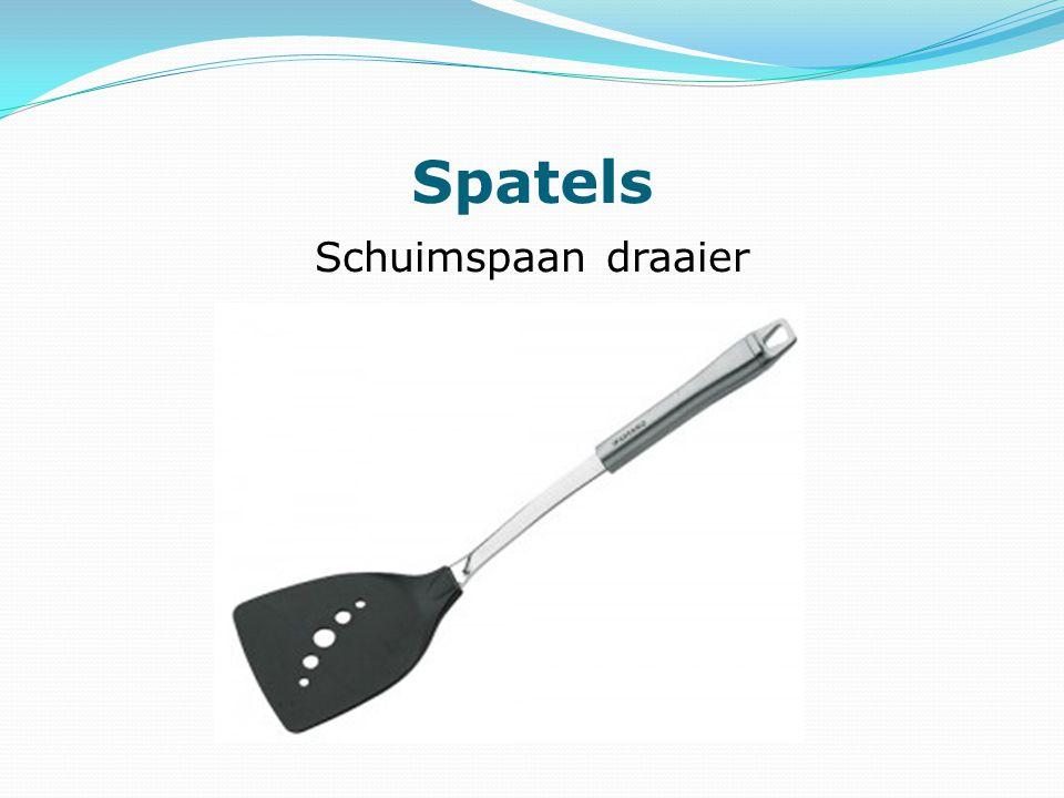 Spatels Schuimspaan draaier