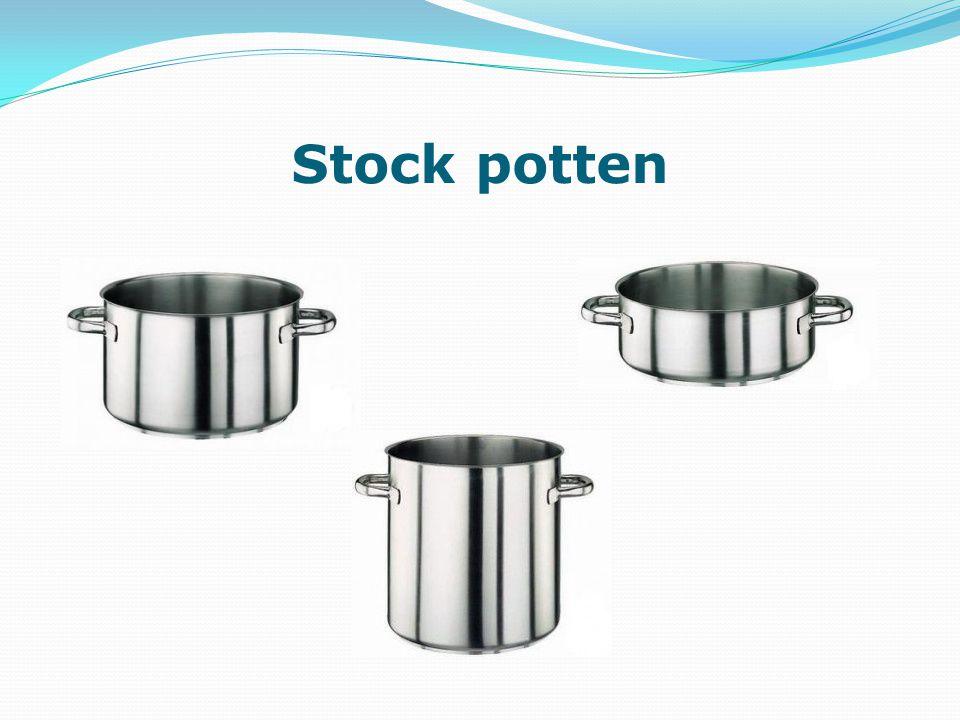Stock potten