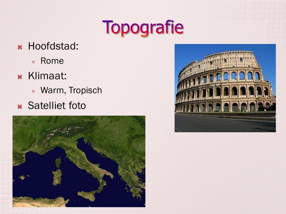  Hoofdstad:  Rome  Klimaat:  Warm, Tropisch  Satelliet foto