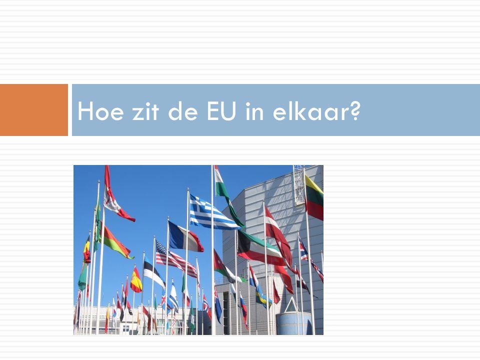 Hoe zit de EU in elkaar?