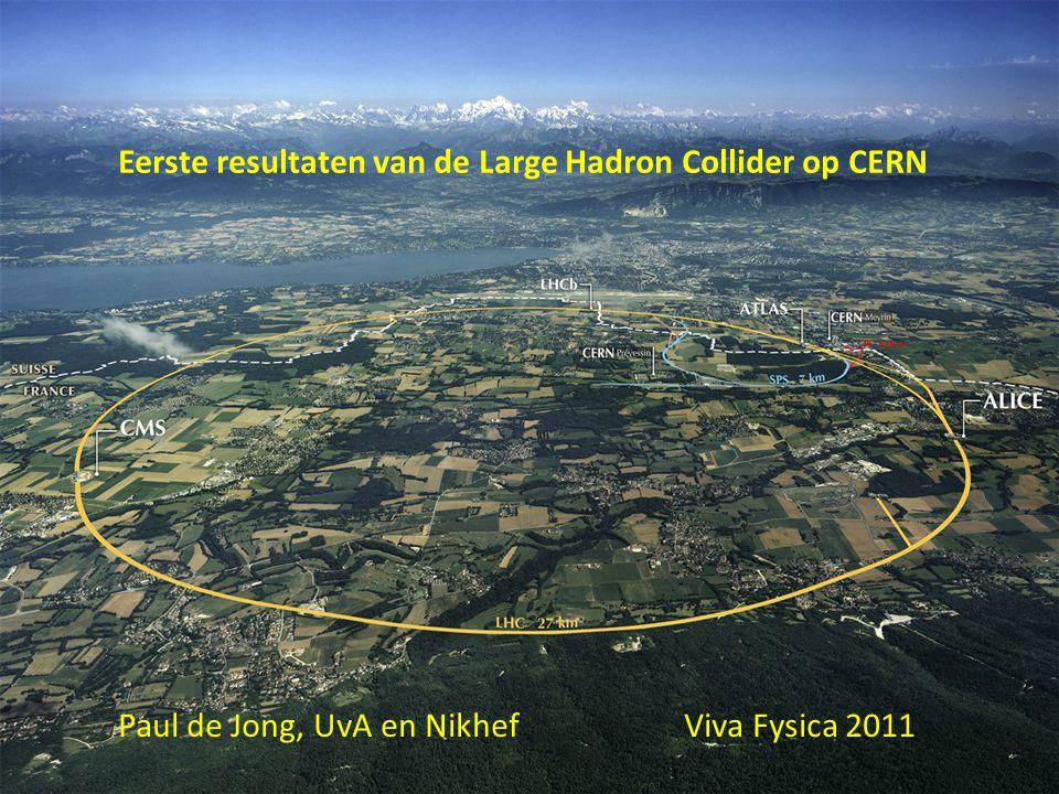 Eerste resultaten van de Large Hadron Collider op CERN Paul de Jong, UvA en Nikhef Viva Fysica 2011