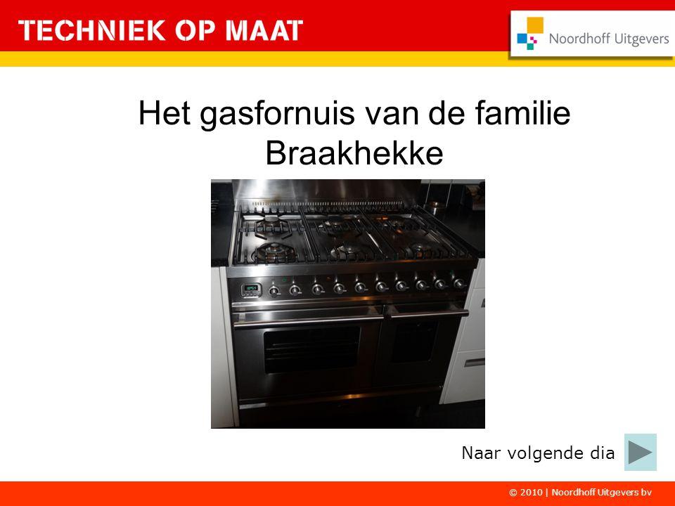 © 2010 | Noordhoff Uitgevers bv Het gasfornuis van de familie Braakhekke Naar volgende dia