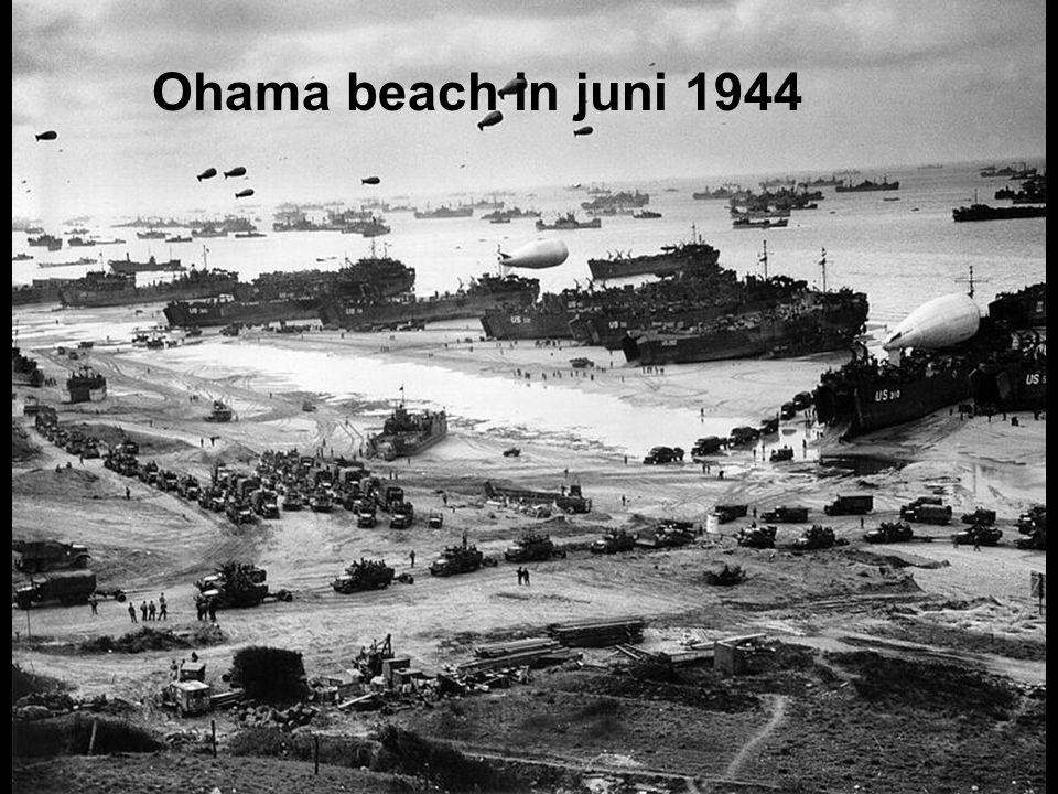 Juni 1944. Landing van de geallieerden in Normandië