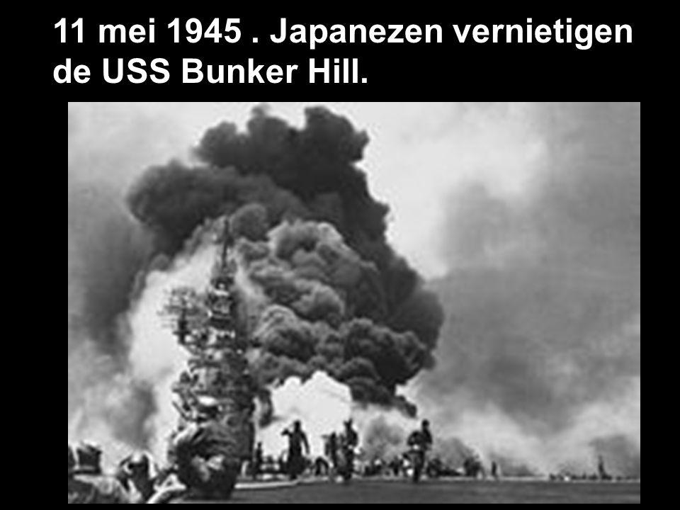 11 juli 1945 Nagasaki en Hiroshima