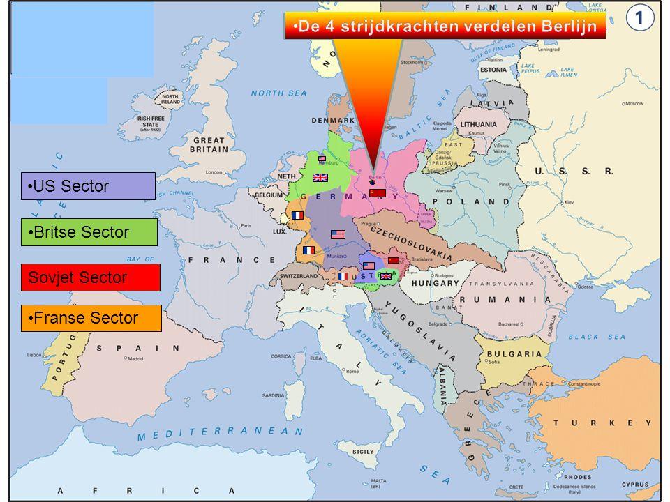 Deel 6 De na-oorlogse bezetting van Duitsland.