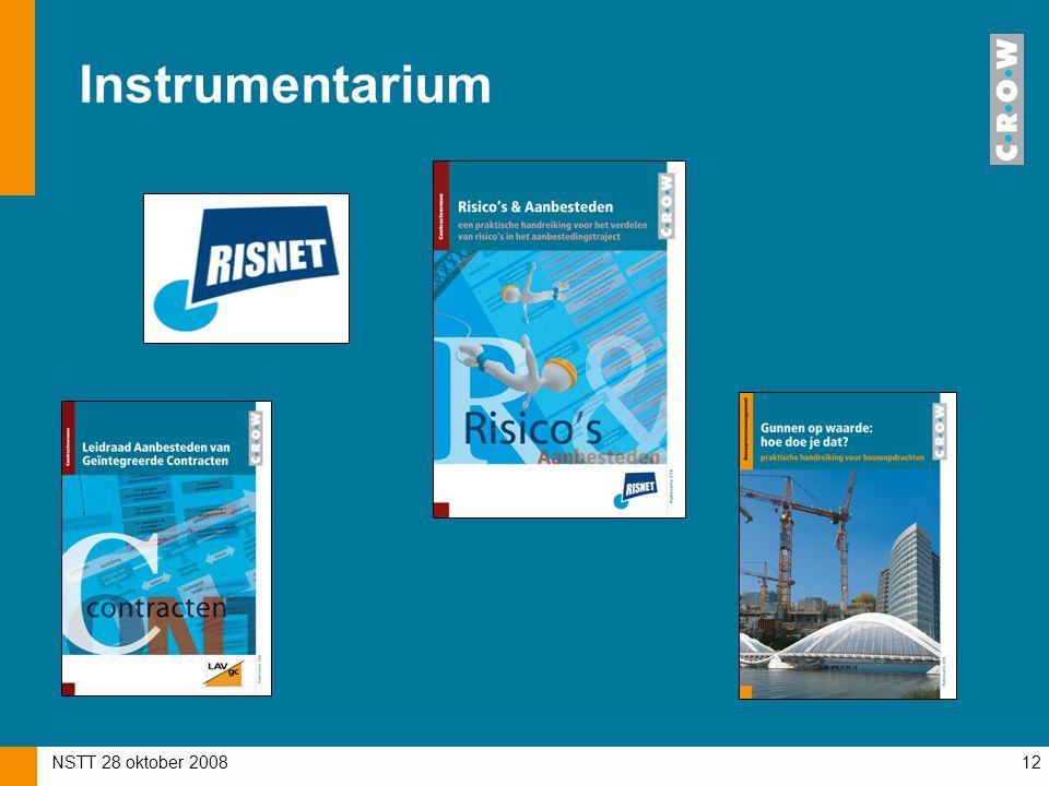 NSTT 28 oktober 200812 Instrumentarium