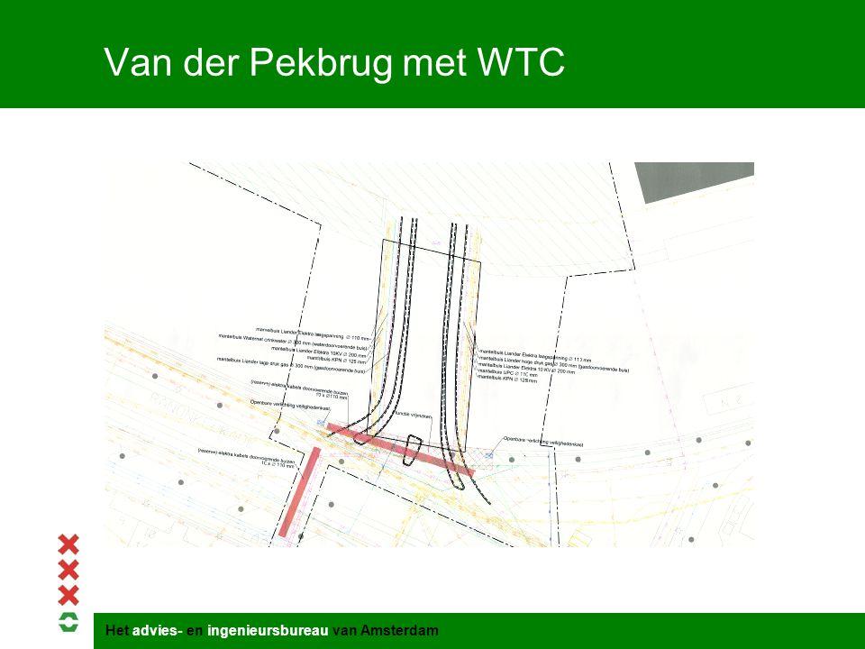 Het advies- en ingenieursbureau van Amsterdam Van der Pekbrug met WTC