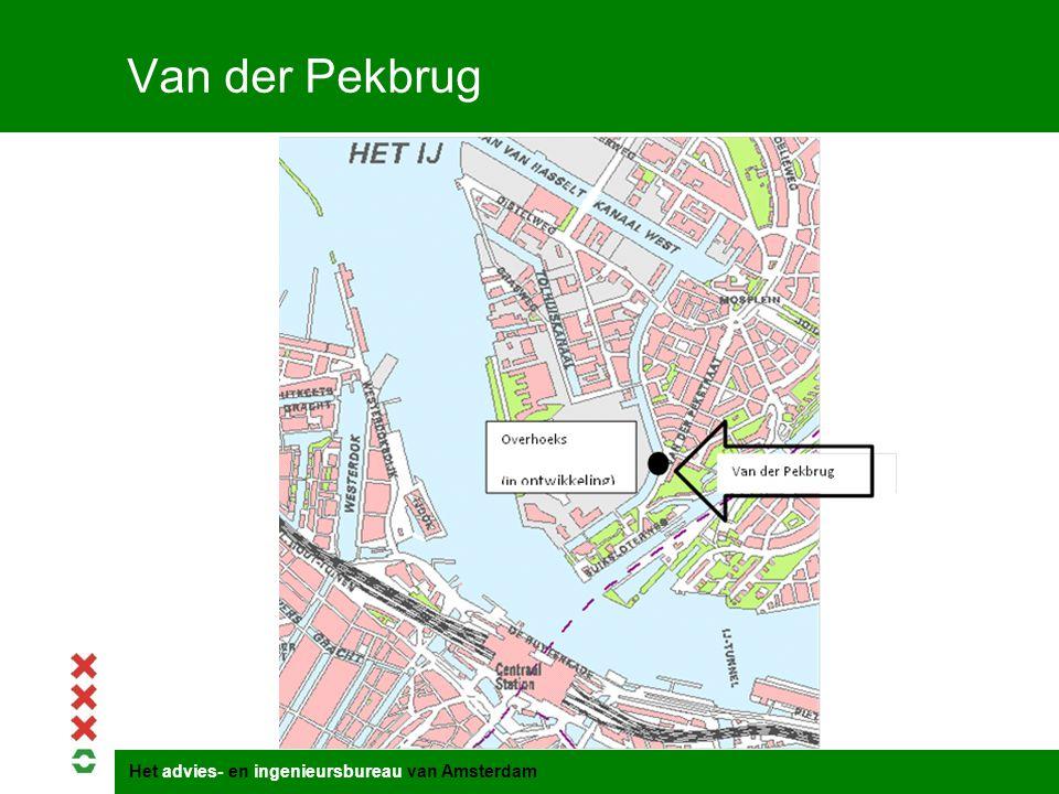 Het advies- en ingenieursbureau van Amsterdam Van der Pekbrug