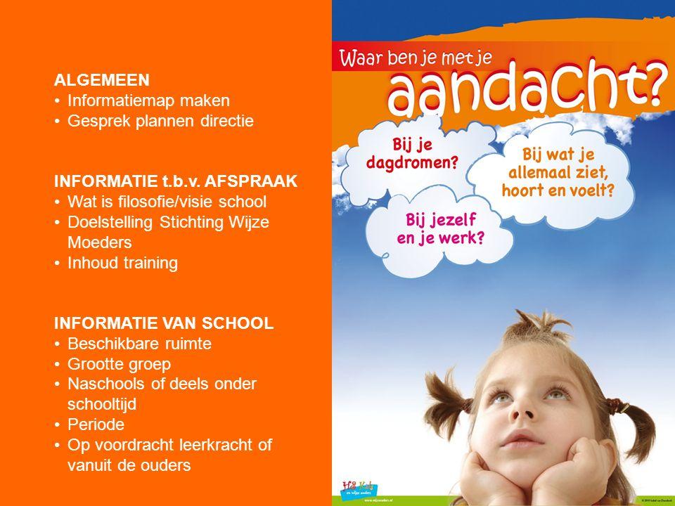 GESPREK DIRECTIE Wie is Stichting Wijze Moeders.Wat is de doelstelling van de Stichting.