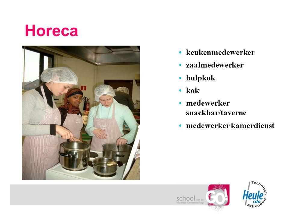 Horeca keukenmedewerker zaalmedewerker hulpkok kok medewerker snackbar/taverne medewerker kamerdienst