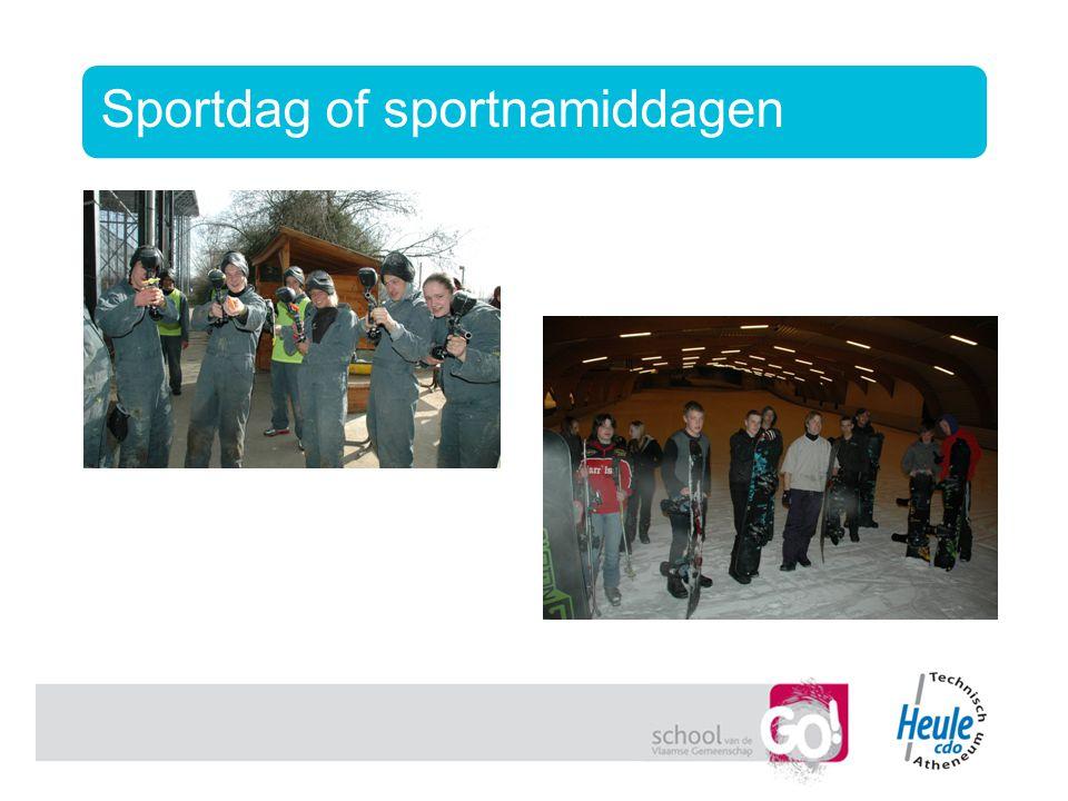 Sportdag of sportnamiddagen