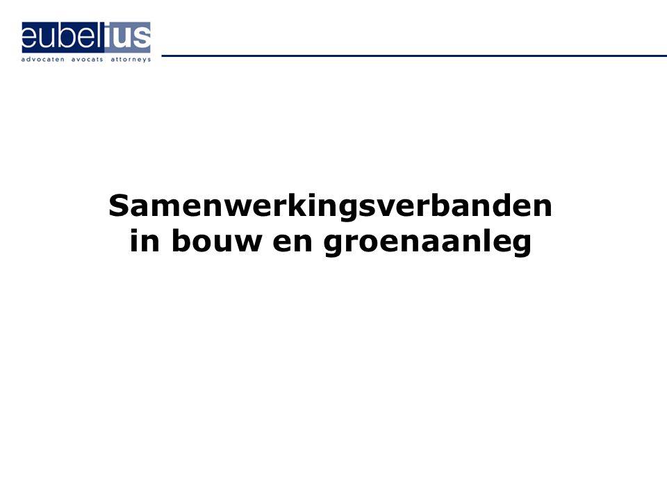 Eubelius Advocaten Onderovereenkomst Onderaanneming v.