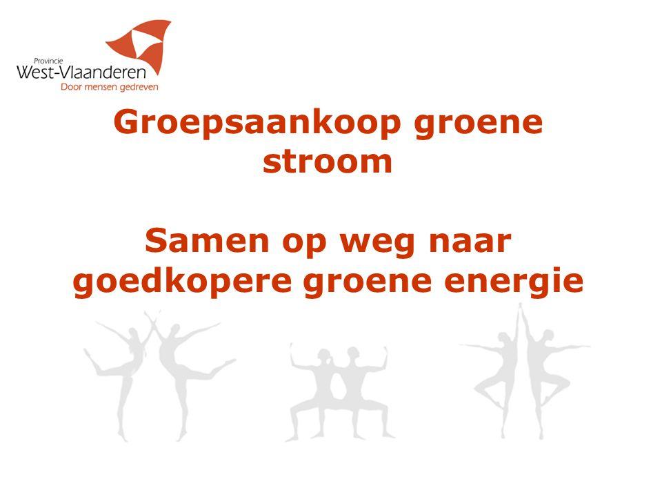 Hoe ziet Energie markt eruit (2 van 2)  Vb leveranciers: Electrabel (vaak standaard leverancier), Luminus, Essent, Nuon, Lampiris, Belpower, …  Netbeheerders in West-Vlaanderen: INFRAX, EANDIS  Dominante positie leidt tot hogere prijzen