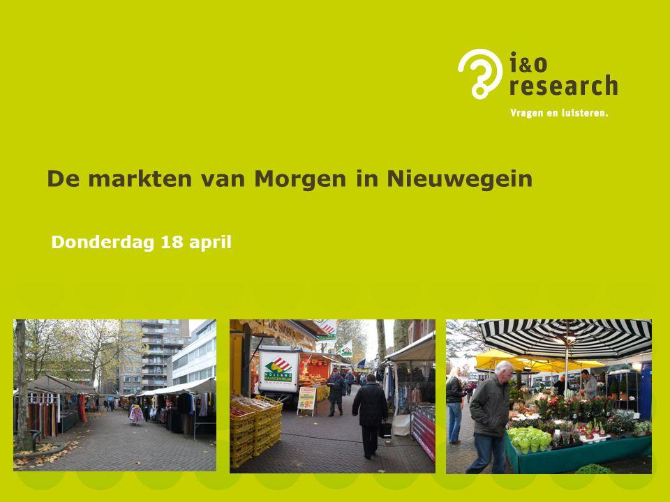 De markten van Morgen in Nieuwegein Donderdag 18 april