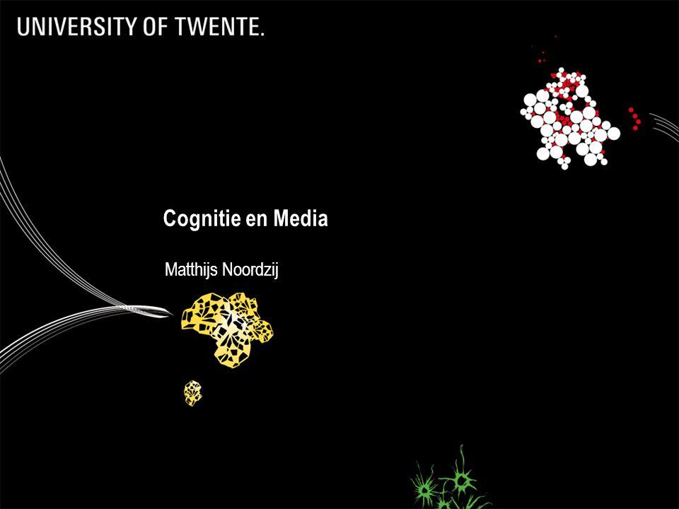 49 Cognitie en Media Matthijs Noordzij