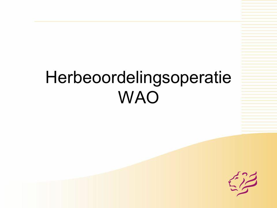 Herbeoordelingsoperatie WAO