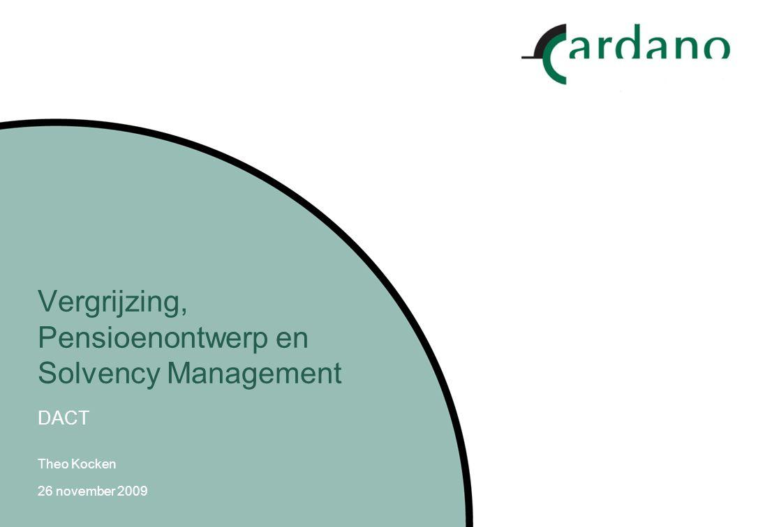 11 Stabiel (her)ontwerp pensioenstructuur Een balansbenadering Corporate balans: Ook stakeholders Nemen verschillende risico's Valt niet uiteen onder spanning Niemand klaagt over onzinnige solvabiliteitseisen