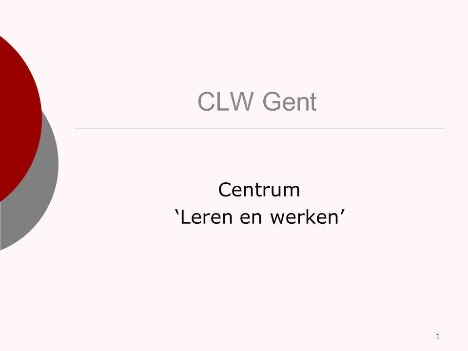 CLW Gent Centrum 'Leren en werken' 1