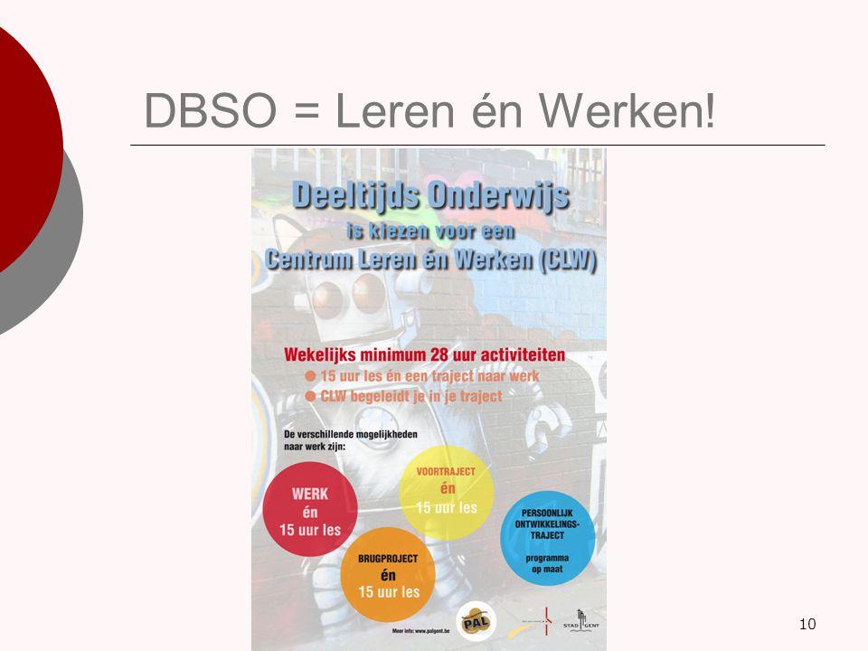 DBSO = Leren én Werken! 10
