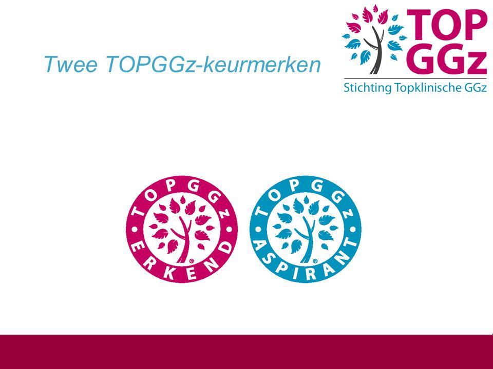 Twee TOPGGz-keurmerken