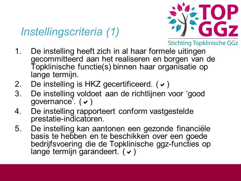 Kenmerken O G Vergroten potentieel wetenschappelijk geschoolde GGZ-hulpverleners Overbruggen kloof wetenschap - zorg praktijk Persoonsgebonden Programma