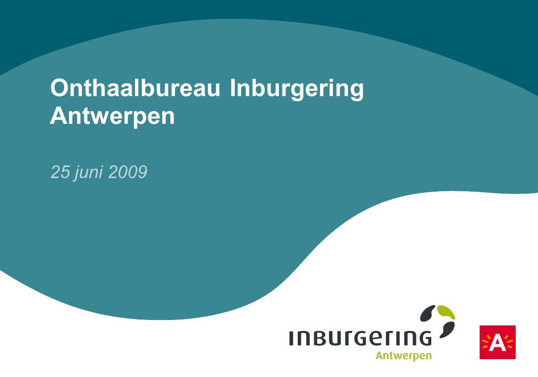 Onthaalbureau Inburgering Antwerpen 25 juni 2009