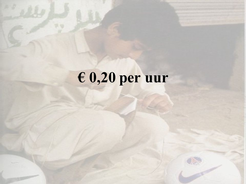 € 0,20 per uur