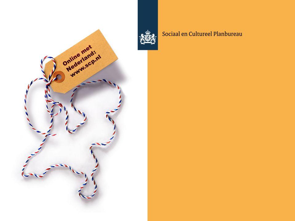 Vergrijzen en verzilveren Antwerpen, 16 november 2012 Paul Schnabel Sociaal en Cultureel Planbureau Universiteit Utrecht