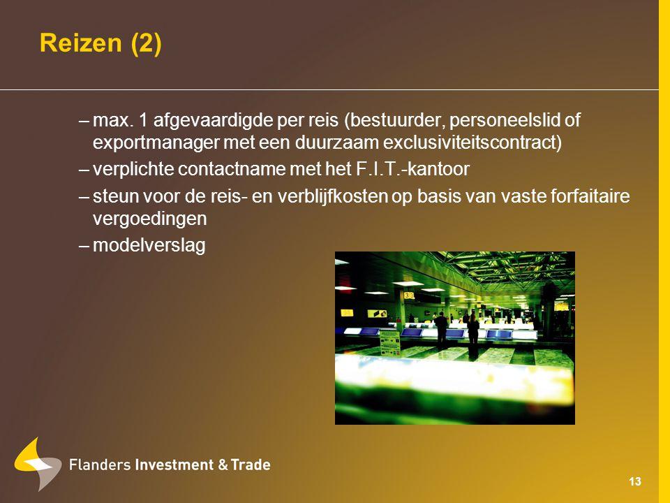 13 Reizen (2) –max.