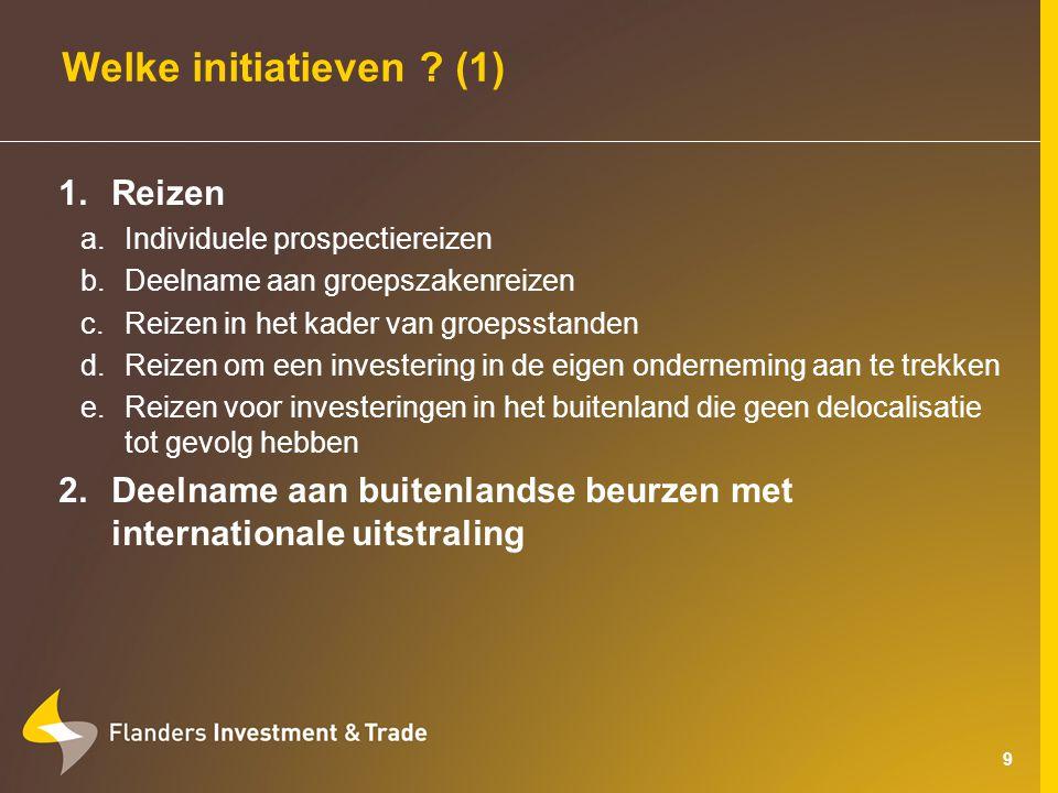 10 Welke initiatieven .