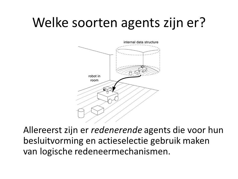 Wat zijn geschikte mechanismes voor multi-agent encounters.
