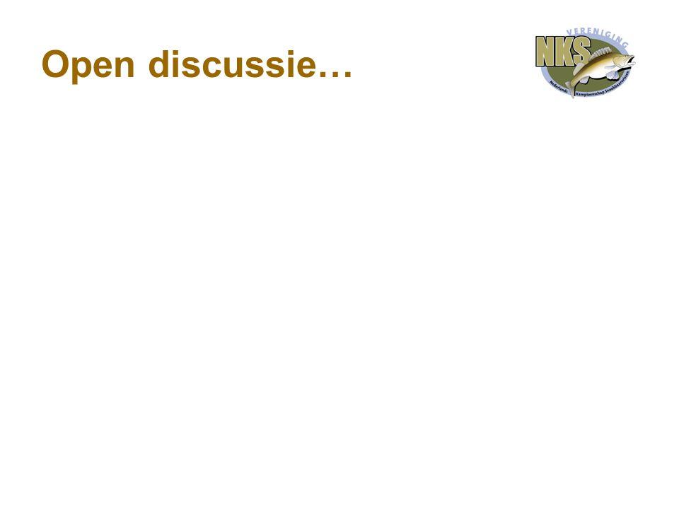 Open discussie…