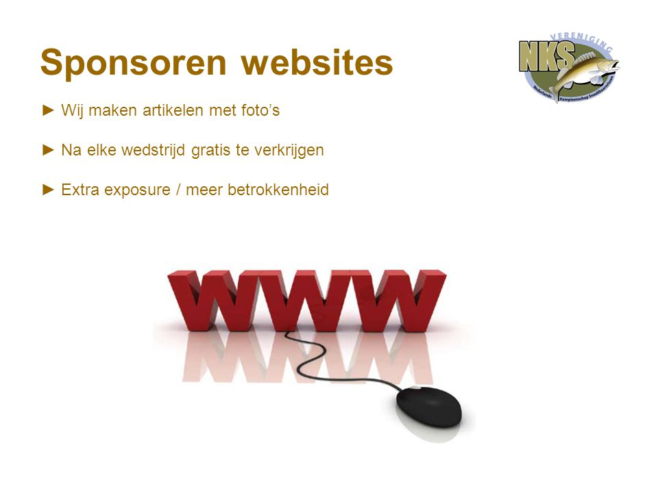 Sponsoren websites ► Wij maken artikelen met foto's ► Na elke wedstrijd gratis te verkrijgen ► Extra exposure / meer betrokkenheid