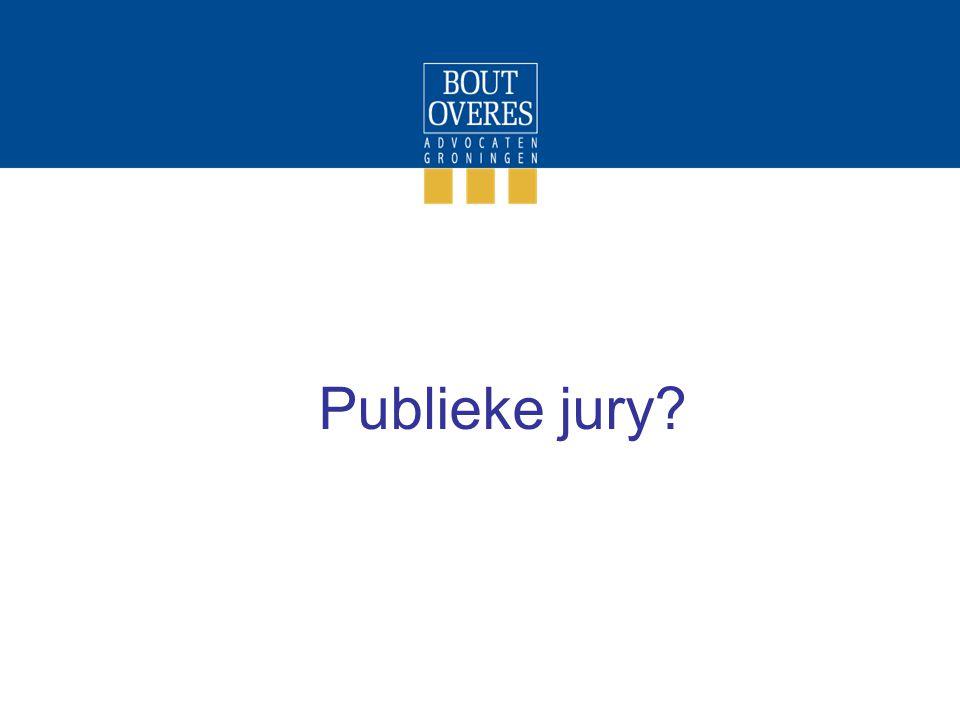 Publieke jury?