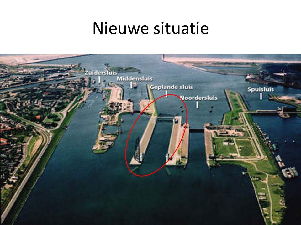 Project Het zal de grootste zeesluis van Europa worden (500x65x18 m (L,B,D)).