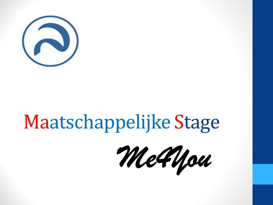 Maatschappelijke Stage Me4You