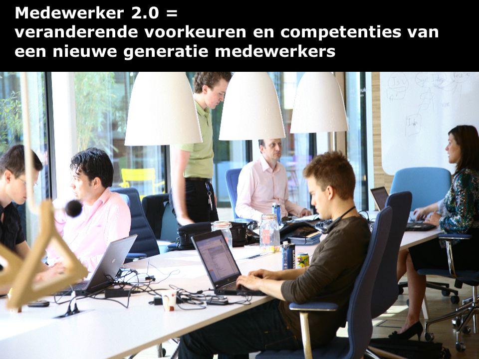 Medewerker 2.0 = veranderende voorkeuren en competenties van een nieuwe generatie medewerkers