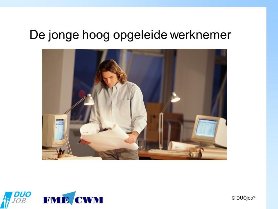 © DUOjob ® De jonge hoog opgeleide werknemer