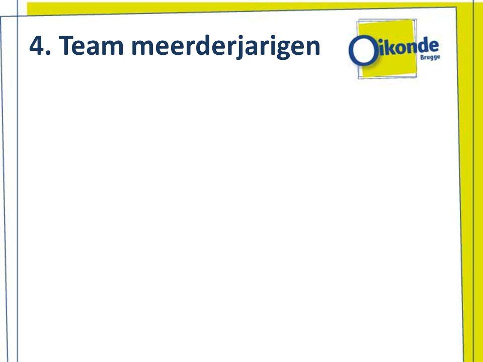 4. Team meerderjarigen