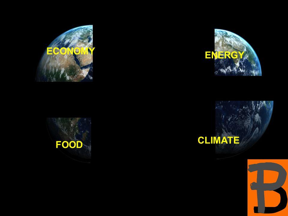 ECONOMY CLIMATE ENERGY FOOD