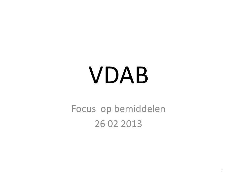 VDAB Focus op bemiddelen 26 02 2013 1