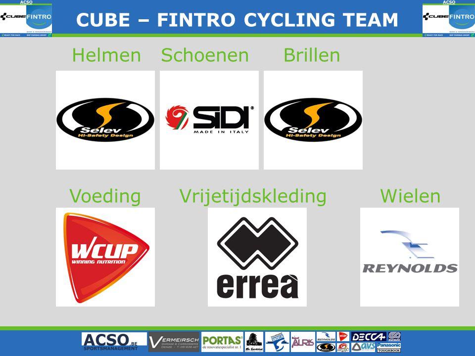 CUBE – FINTRO CYLING TEAM CUBE – FINTRO CYCLING TEAM HelmenBrillenSchoenen WielenVoedingVrijetijdskleding