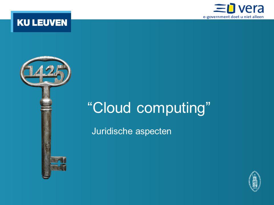 Cloud Computing een model dat het mogelijk maakt om door middel van een computernetwerk gedeelde configureerbare computermiddelen op aanvraag beschikbaar te stellen op een snelle, gemakkelijke en alomtegenwoordige manier met minimale beheermoeite of interactie van een serviceprovider .